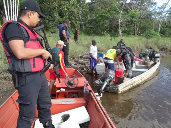 Brasil Integrado III: Operação na fronteira apreende drogas e prende foragidos da Justiça