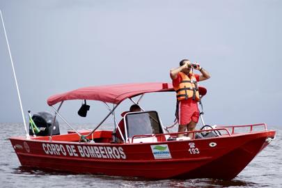 Naufrágio no Jari: Bombeiros do Pará vão ajudar nas buscas com equipamento especial de mergulho