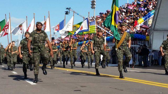 Em Macapá, desfile cívico-militar retorna à FAB