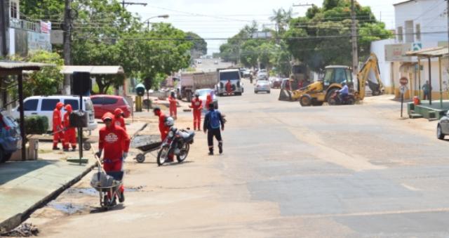 Prevenção: Percurso do Círio de Nazaré recebe manutenção