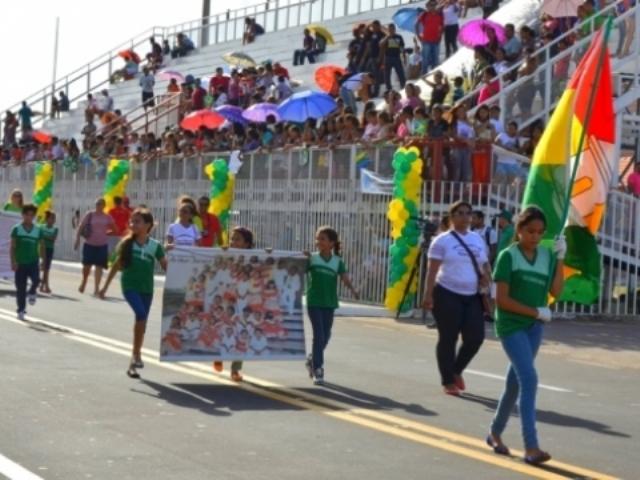 tudo pronto: Desfile de 13 de setembro em Macapá vai contar com 100 escolas