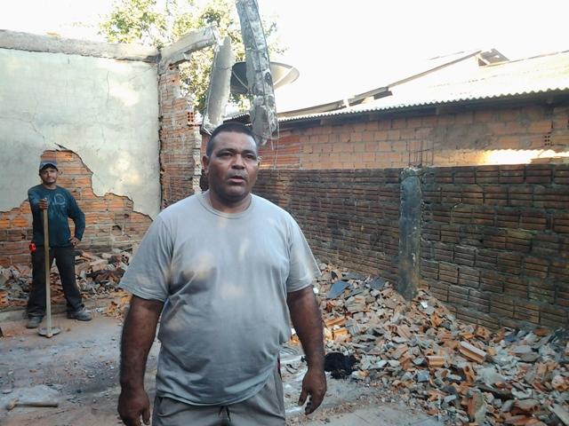 Solidariedade: Militares se mobilizam para ajudar sargento que perdeu a casa em incêndio