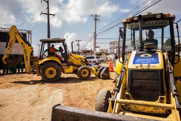 Obras retomadas: Primeira fase vai gerar sete mil empregos, diz governo