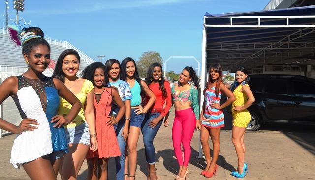 Beleza e samba no pé: Rainhas de bateria disputam o título de Musa do Carnaval