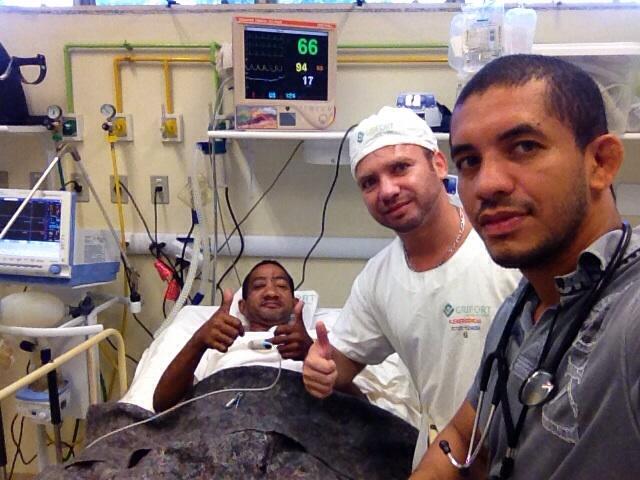 Ainda internado: Melhora estado de saúde do maratonista esfaqueado em assalto