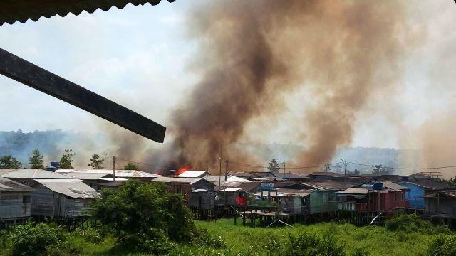 Sul do Amapá: Incêndio assusta moradores de Laranjal do Jari
