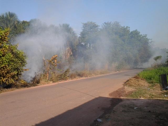 Marabaixo II: Incêndio em área de ressaca tira sossego de moradores