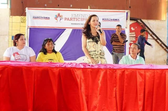 Marcivânia poderá ser a candidata do PT