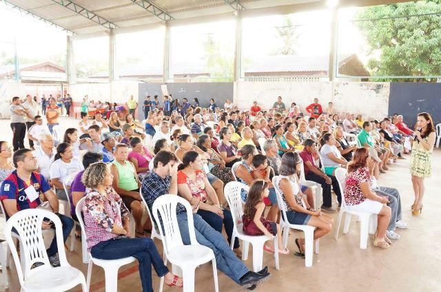 Marcivânia: Infraestrutura lidera indicações em plenárias da Emenda Participativa