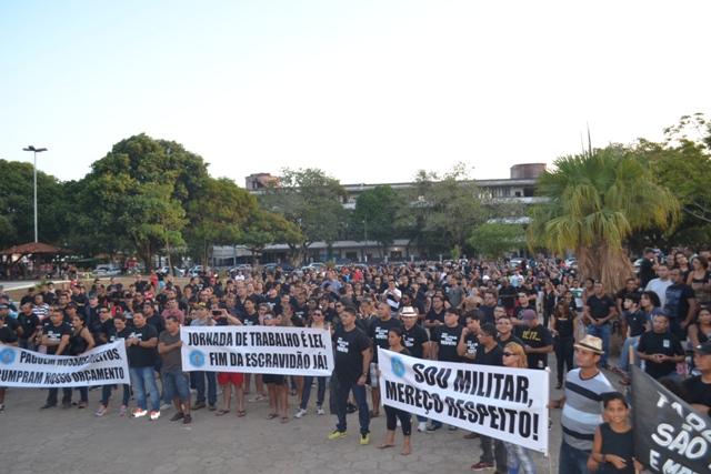 Perdas de 40%: Militares realizam assembleia para cobrar reposição salarial