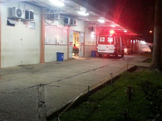 Vítima reagiu: Bandido ferido em assalto é preso no HE