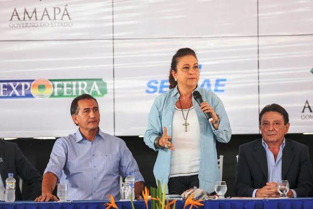 Visita técnica: Ministra define metas para o setor produtivo do AP