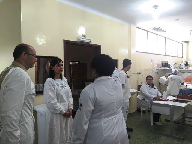 CÂNCER: Médicos de Barretos conhecem a rede hospitalar do AP
