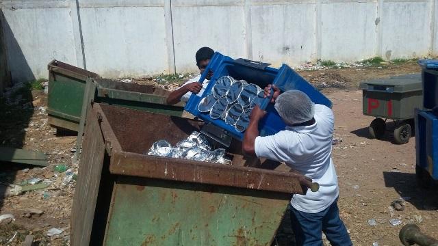 Prejuízo de R$ 4,8 mil: Detentos recusam almoço e 1 mil refeições vão parar no lixo