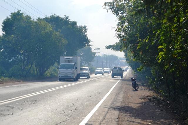 Fumaça: Incêndios na Lagoa dos Índios são provocados, dizem bombeiros