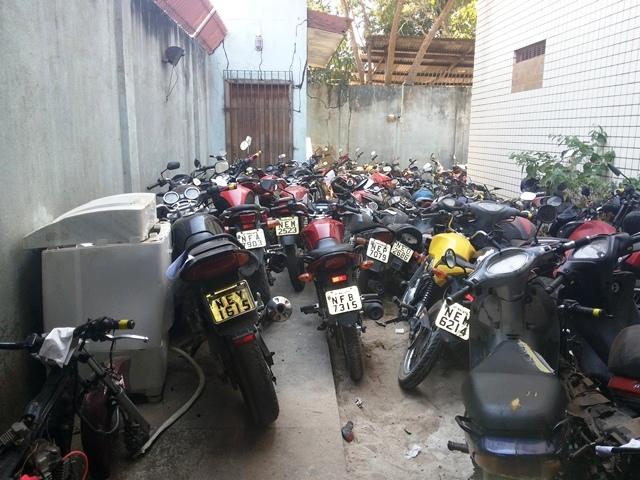 850 até outubro:75% dos veículos roubados em Macapá são motos