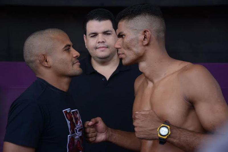 Atletas batem o peso: MMA na Expofeira terá 25 lutas