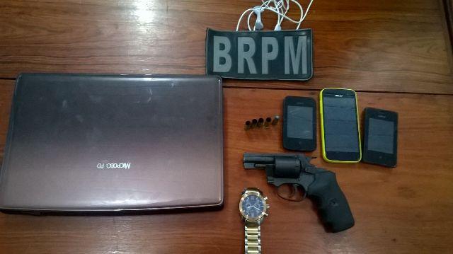 Assaltante de 17 anos morre em troca de tiros com o BRPM