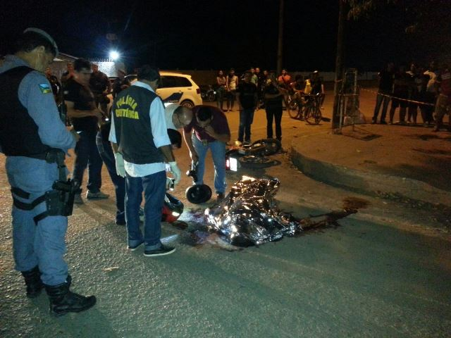 Ordem para matar mototaxista partiu do Iapen, afirma polícia