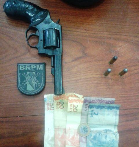 BRPM: Bandidos vão lanchar depois do assalto e são presos