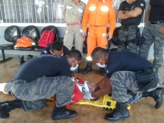 Preparação: À espera do helicóptero, integrantes do GTA intensificam treinamentos