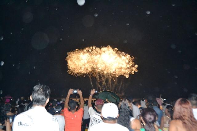 Reveillon da Beira-Rio: queima de fogos terá 12 minutos, diz governo