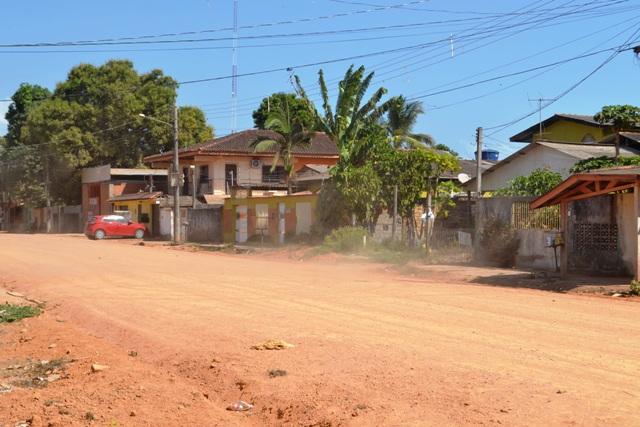 Zona Norte:No Jardim Felicidade, moradores cansaram da poeira