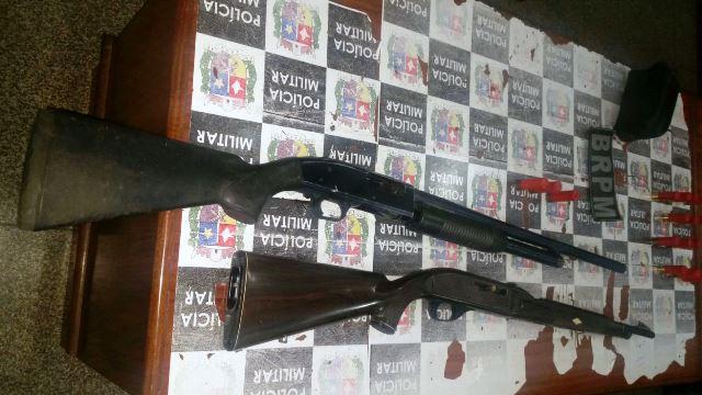 Pedrinhas: BRPM apreende armas debaixo de colchão