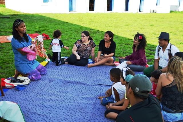 Contadores de histórias invadem a Fortaleza
