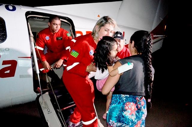 Émile embarca para tratamento em São Paulo