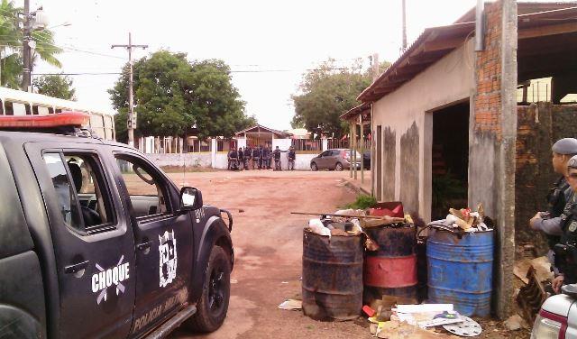 Bandido liberta reféns no São Lázaro