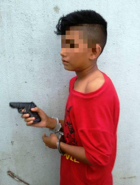 Adolescente tenta assaltar mercantil 2 vezes em menos de 24h