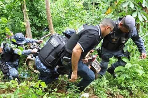No Jari, operação recupera motos roubadas em Macapá