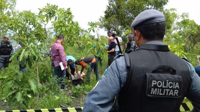 Vítimas chegaram desacordadas e foram executadas no local