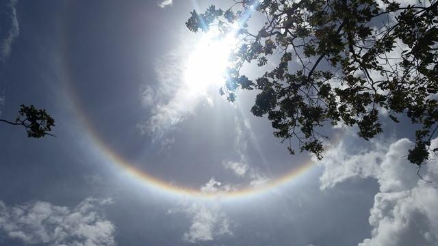 Fenômeno no céu