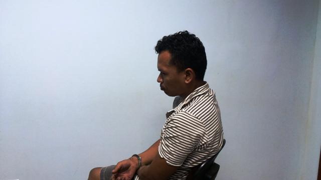 """""""Ele caiu em cima da faca"""", alega acusado preso pela Polícia Civil"""
