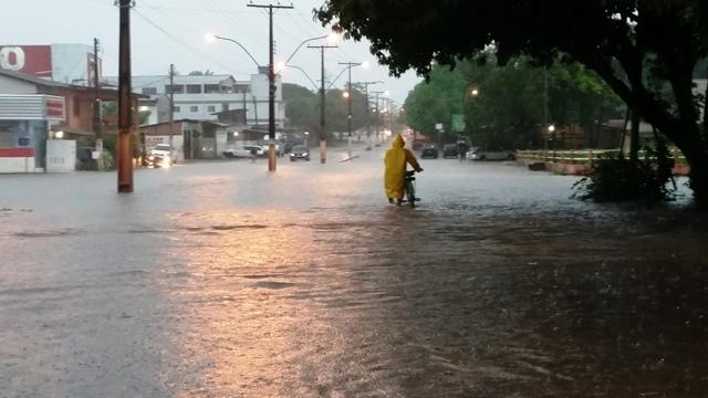 Defesa Civil registra a maior chuva do ano
