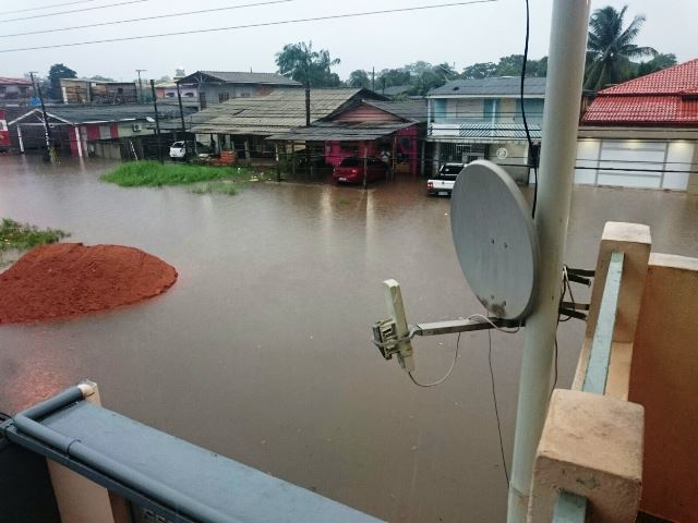 Inundações afetam mais de 2,1 mil pessoas e 539 imóveis