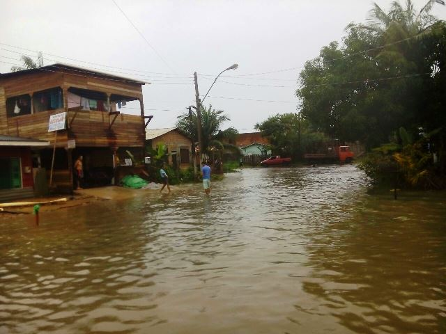 Choveu 90 milímetros, diz Defesa Civil Municipal
