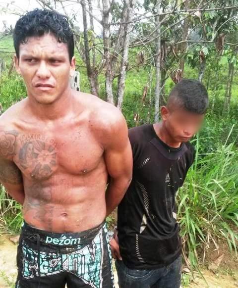 PM prende acusados esquartejamento em Pedra Branca do Amapari
