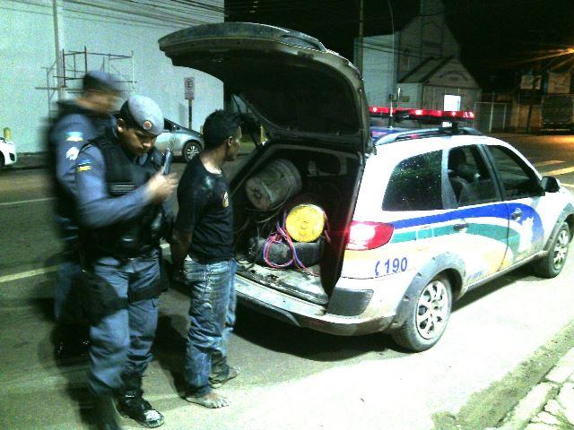 Ex-detento é preso pela 6ª vez