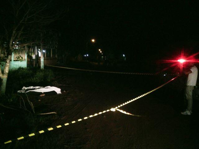 Assaltantes matam vigia noturno