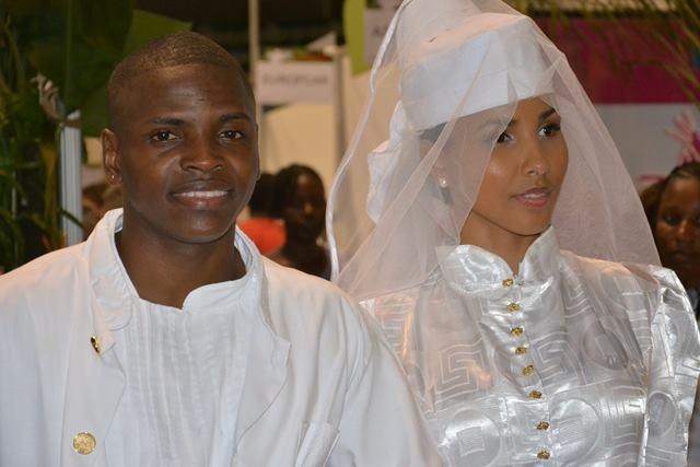 Casamento 'crioulo' encerra Salão de Turismo na Guiana