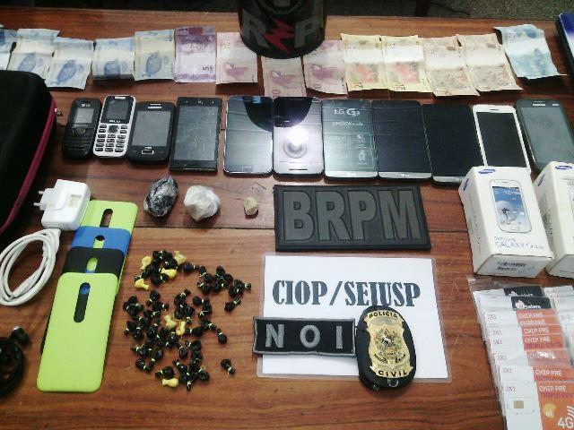 Quadrilha furtava, desbloqueava e vendia celulares, diz polícia