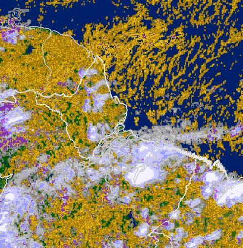 Macapá e Santana recebem novo alerta de inundação