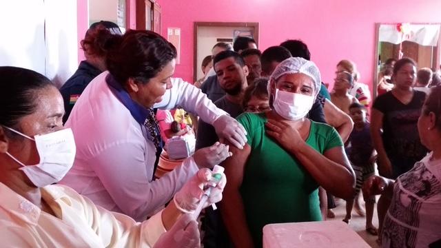 Amapá atinge 80% da meta de vacinação do H1N1
