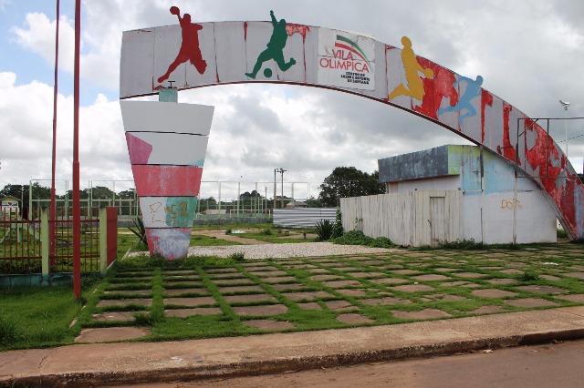 O abandono da Vila Olímpica