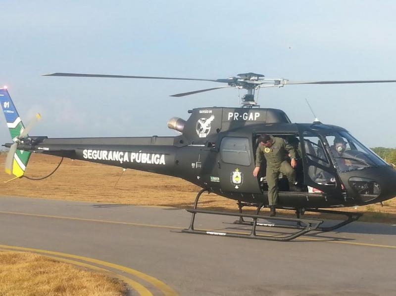 Helicóptero ajuda nas buscas ao engenheiro desaparecido