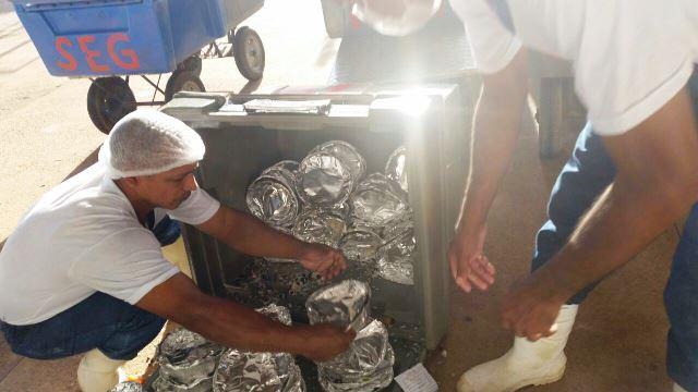Agentes encontram drogas em marmitas dentro do Iapen