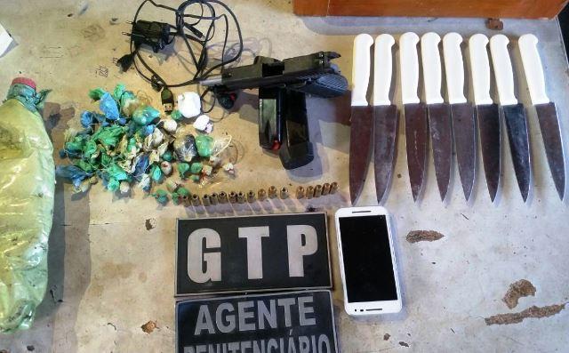 Pistola da PM do Pará é encontrada no Iapen